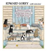 Edward Gorey 2018 Wall Calendar
