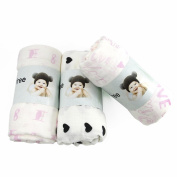 Bamboo Muslin Swaddles - 3 Pack - Softest Muslin Swaddle Blankets - Oversized 120cm x 120cm - Best Baby Shower Gift -70% Bamboo 30% Cotton