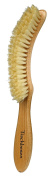 Bürstenhaus Redecker Natural Pig Bristle Table Hand Brush with Oiled Beechwood Handle, 23cm