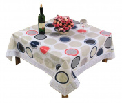 Fashion Circles Pattern Tablecloth/ Decorative Square Table Cloths,15140cm