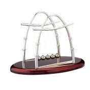 Generic Cradle Balance Balls Physics Pendulum Science Desk Office Classic Toy
