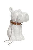 Interior Illusions Plus Scottie Dog with Necklace Piggy Bank