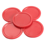 GogoForward 5Pcs 2 inch Mini Air Hockey Table Pucks 50mm Puck Children Table New DT