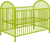 Cosco Applegate Metal Crib, Lime Green