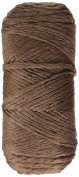 Phentex Slipper & Craft Yarn, 90ml, Brown, Single Ball