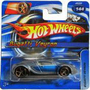 Hot Wheels 2006 #144 - Bugatti Veyron on Short Card - Faster Than Ever