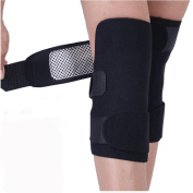 1Pair(2PCS) Black Upgraded Version Self-Heating Knee Pads-- Far Infrared Spontaneous Brace Support Magnetic Therapy Cold-proof Heating Pad
