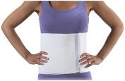 Bilt-Rite Mastex Health 23cm Universal Abdominal Binder, White