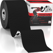 Kinesiology Tape - Pro Sports & Athletic Taping for Knee, Shin Splints, Shoulder and Muscle - 5.1cm X 5m Uncut Roll