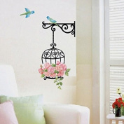 Amiley Wall Stickers ,Bird Wall Decal Sticker Home Decor Removeable