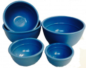 Mario Batali 5-piece Measuring Prep Bowl Set, Country Blue