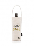 Kate Spade New York Bridal Wine Tote, Miss to Mrs., , CANVAS