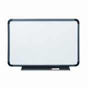 Iceberg ICE37049 Ingenuity High Density Polyethylene Dry Erase Communication Board with Blow Mould Frame, 120cm Length x 2.5cm Width x 90cm Height, Charcoal
