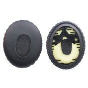Bingle Earpads for Bose On-Ear OE/ OE1 QC3 Headphone - Replacement Memory Foam Ear Cushion Pads Earpads Ear Cups for Bose QuietComfort3