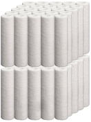 iSpring FP120X50 56781.2l 20 micron 25cm x 6.4cm Universal Sediment Filter Cartridges, Multi-layer, 50-Pack