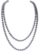 Babeyond ART DECO Fashion Faux Pearls Flapper Beads Cluster Long Pearl Necklace 140cm
