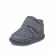 Little Blue Lamb Boys' First Walking Shoes grey grey 6-12 months
