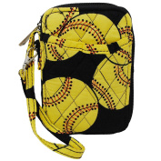 Sport Themed Prints NGIL Quilted Wristlet Wallet