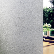 Fancy-fix Adhesive Free Decorative Frosted Privacy Window Film-90cmx200cm