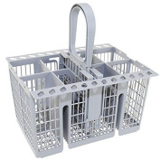Premium Quality Dishwasher Cutlery Basket Tray For Hotpoint Indesit - Grey