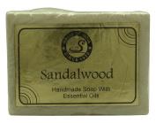 Magic Of India Sandalwood Handmade Bathing Soap With Essential Oils - 130ml