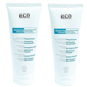 Eco Nourishing Shampoo for stressed hair with Olive Leaf & Mallow - 2 x 200ml
