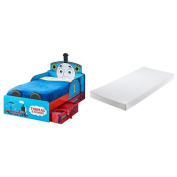 Thomas the Tank Engine Toddler Bed with Underbed Storage and Silentnight Cot Mattress