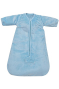 PMP Sky 65 cm Microfiber Winter Sleeping Bag with Removable Sleeves Shift Belt/0-6 Months