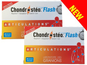 Chondrostéo + Flash articulations - Lot de 2 boites 40 gélules...
