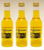 3 X KTC 100% Pure Mustard Multipurpose Oil 250ml - Used for Hair Oil, Skin Massage by Wilson_Direct
