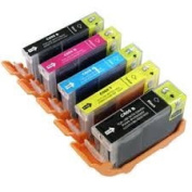 Canon Compatible Ink Cartridges for Canon Pixma MG5450, MG5550, MG6350, MG6450, MX725, MX925, IP7150, iP7250, Printers