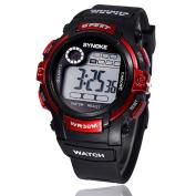 Malltop Boy Digital LED Quartz Alarm Date Sports Waterproof Wrist Watch New