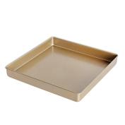Zhhlaixing Fashion Carbon Steel Non-Stick Baking Tray,28.5cm*28.5cm