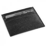 Laurige Luxury French manufacturing Leather ID and credit card holder