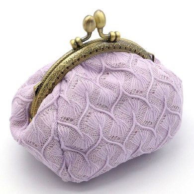 Bodhi2000® Women Lady Vintage Knitted Small Wallet Hasp Coin Purse Clutch Bag