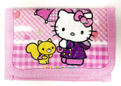 Children's Hello Kitty Coin Purse With Zipper