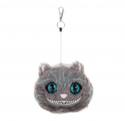 Disney Alice in Wonderland time of journey reel with stuffed porch Little Cheshire Cat total length 15cm