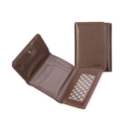 Trifold Wallet,Ikepod Leather Trifold Wallet (3 Colours) [RFID Blocking and Slim Stitching!]