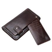 Gendi Men Clutch Wallet with Multi Card Holders 100% Genuine Leather Men Wallets Big Long Clutch Male Clutch Purse