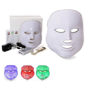 LED Photon Therapy Red Blue Green Light Treatment Facial Mask Beauty Skin Care Phototherapy Mask