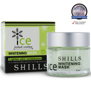 SHILLS ICE Instant Cooling Whitening Mask 100% Genuine / Authentic -Lighting & Brightening. Pore-Shrinking & Hydrating. Leaves Skin Looking & Feeling Soft.