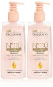 Diadermine N110 gel Limpiador Suave Pss Set contains High Efficiency Cleaners, 400 ml, Pack of 2