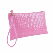 Fulltime(TM) Womens Long Purse Luxury Large Capacity Wallet With Zipper Pocket Card Holder Case Clutch Phone Handbag Coin Purse
