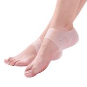 ROSENICE Foot Protector Heel Protectors Gel Heel Socks Sleeve Pads Cushions Moisturising Socks - 1 Pair