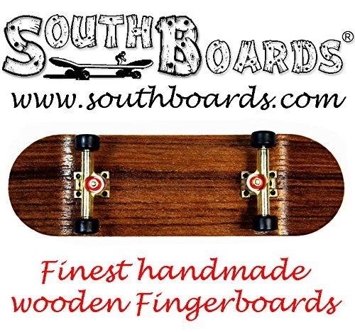 Stainlessgocultured Freshwater South Boards Handmade Wood Fingerboard Finger Skate Board Oak Real Wood