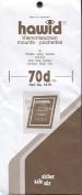 Hawid Stamp Mounts - 210 x 70mm - Black