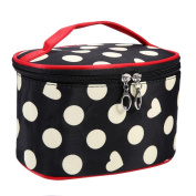 JACKY Dot Series Portable Multi Functional Cosmetic Bag