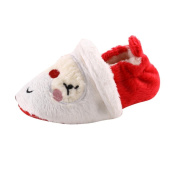For 0-18 Months Girls Boys ,Clode® Cute Toddler Infant Newborn Baby Santa Claus Soft Sole Christmas Prewalker Shoes
