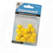 Silverline 457023 Replacement Pods - 10 Pairs