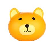 Vlampo Squishy Stress Toys Soft Slow Rising Bear Head 9.9cm 1 Piece